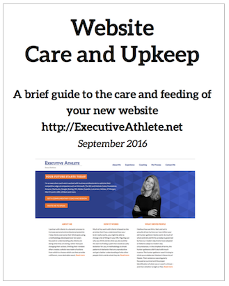 a screenshot of the cover of the guide for the website